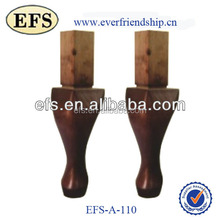 upscale smooth antique wooden legs for bed(EFS-A-110)