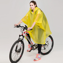 EVA safety rain poncho for bile riding logo custom