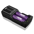 Capable of charging 2 batteries simultaneously recharge 3.7V 18650 Li-ion batteries rapid charger or normal charger