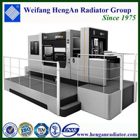 automatic rotary die cutting machine with complete cleaning waste