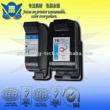 Remanufacture refill ink cartridge of 15+78 use for HP