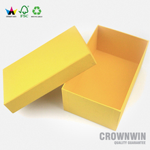 OEM recycled cardboard paper shoe box for sale