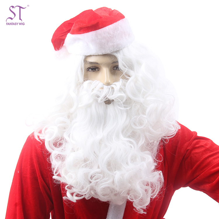 Father Christmas Wigs Real Looking Wigs With Mustache
