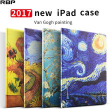 Good texture/Good hand feeling Waterproof color printed pu leather tablet case for new iPad 2017 9.7 inch PC BACK CASES