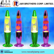 "best selling 13"" colorful plating matel base lava light motion lamp"