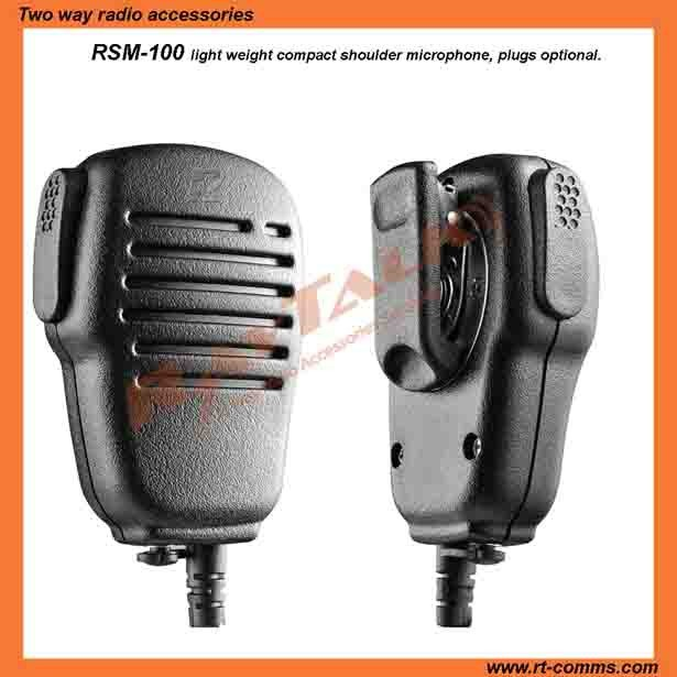 Shoulder speaker microphone lapel mic for Uniden GMR Radio with 2.5mm plug