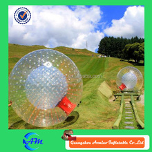 Perfect design human sized hamster ball, giant inflatable ball inside, giant inflatable clear ball