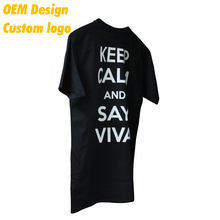Factory Cheap dry fit 3D Print USA size 160gsm Black O Collar Uniform T Shirt for Company