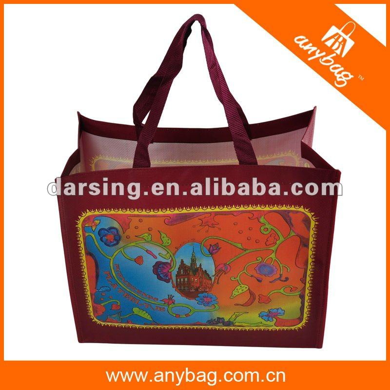 Eco-friendly PP woven shopping bag