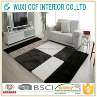 100% polyester patchwork cowhide rugs