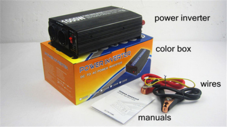 1000W pure sine wave power inverter 12v 220v