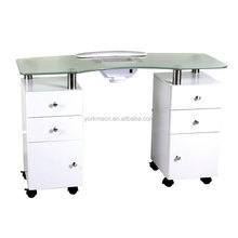 cheap manicure table used /nail dryer table for salon