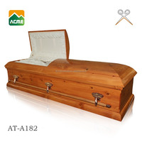 AT-A182 luxury paper china caskets
