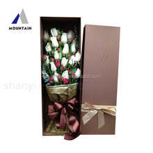 High end luxury gift box preserved fresh flower