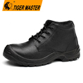 Waterproof oil resistant genuine leather safety shoes for chile