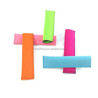OEM popsicle sleeve neoprene holder ice popsicle sleeve