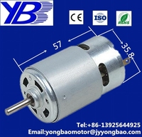 blender dc motor / 14.4V dc motor 35.8mm diameter /12v dc motor for small home appliance brush 550 555
