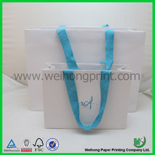 fancy custom order garment carry bag made in China factory