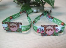 Best Seller RFID Fabric Wristbands for Events with NFC Epoxy Tag for Musical Event