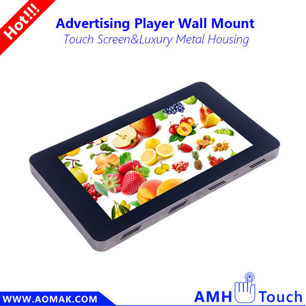 3G/Wifi Wall mounted Android Advertising player - 2014 china new innovative advertisement product