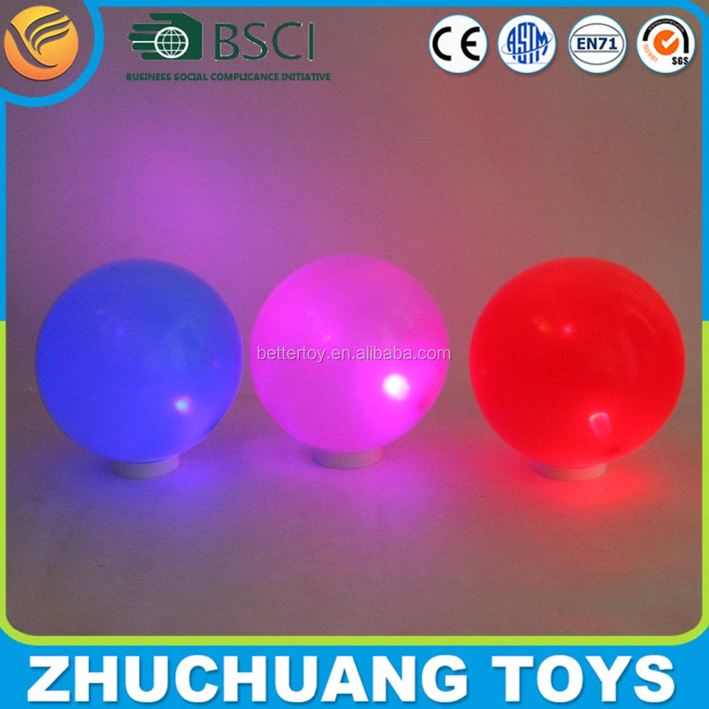 9 inch led light up bouncing baby balls toys