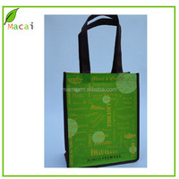 2015 retail black handle non woven bag for girls