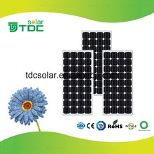 discount 100w mono solar panels for old customer