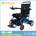 Competitive price easy fold 24V 10AH lithium battery power used folding electric wheelchair for sale