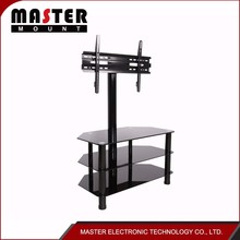 remote controlled glass table tv stand for lcd tv