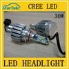 Super bright led auto lighting 5500K 30w for cars led headlight waterproof