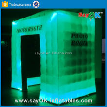 Sayok Custom made stick inflatable photo booth cabinet rental