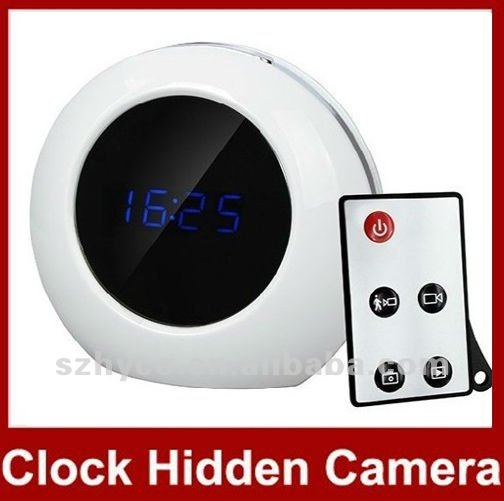 Digital Motion Detection camera alarm clock