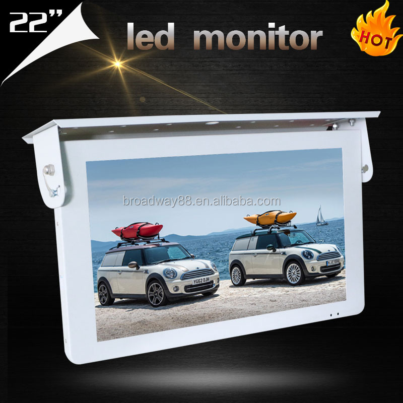 22 inch Wall Mounted LCD TV monitor for bus /22 inch Wall Mounted LED Display Screen for <strong>Advertisment</strong>