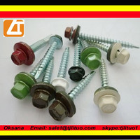 colored roofing screws /roofing nails