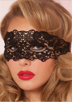 300pcs Black Sexy Lace Mask Cutout Eye Mask for Halloween Masquerade Party Fancy Dress Costume DHL Freeshipping