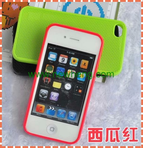 New wholesale TPU cross-stitch case for iphone5 cover