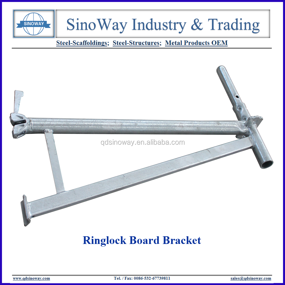 Hot dip Galvanized Steel Outrigger for Scaffolding Board Brackets for Sale