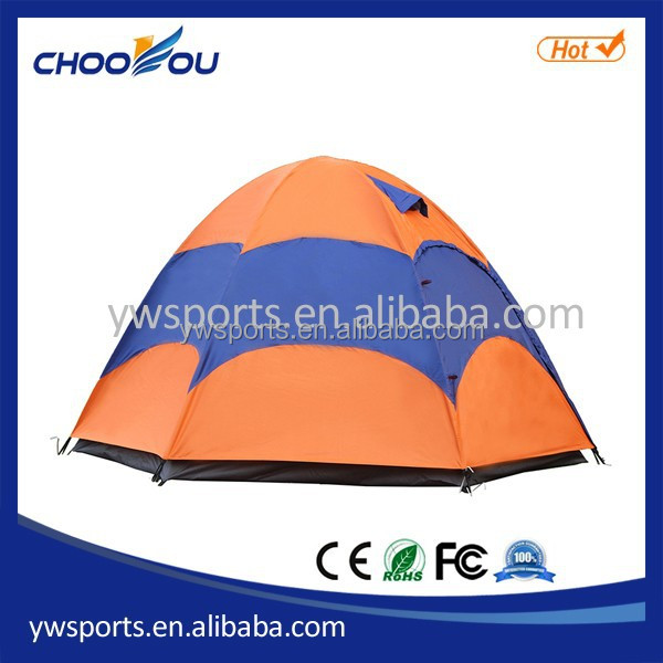 Outdoor Tent One -Room Four-Door Auto tent Camping 4-5 Person