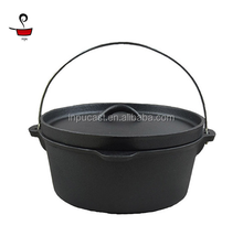 cast iron dutch oven camping cookware