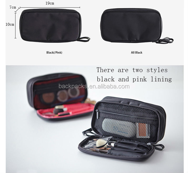Small Cosmetic Bags Makeup Bag Women Travel Toiletry Bag Professional Storage Brush Necessaries Make Up Case Beauty