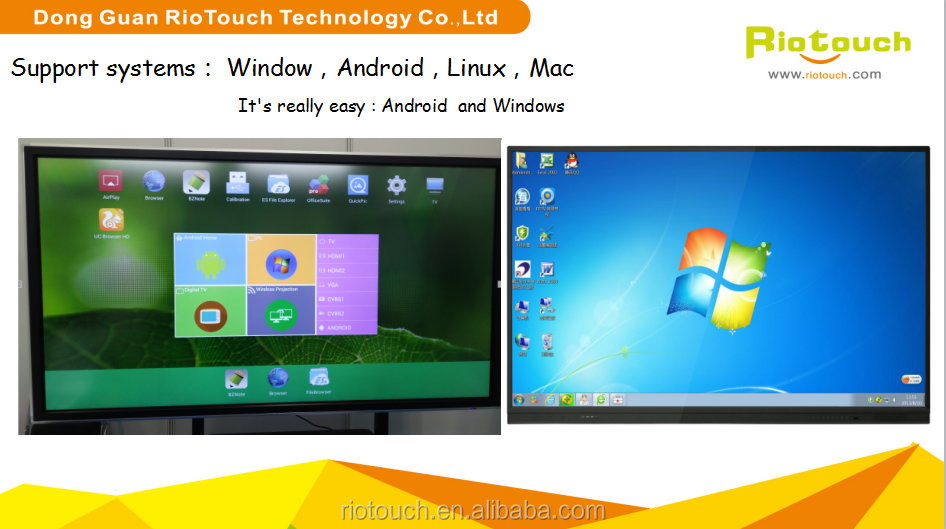 "China OEM 10 POINT IR touch 75"" interactive flat panel/Touch screen monitor/LED TOUCH MONITOR with cheap price"