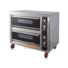 Kitchen Equipment Arabic Bread Machine Industrial 2 Deck Electric Oven Prices