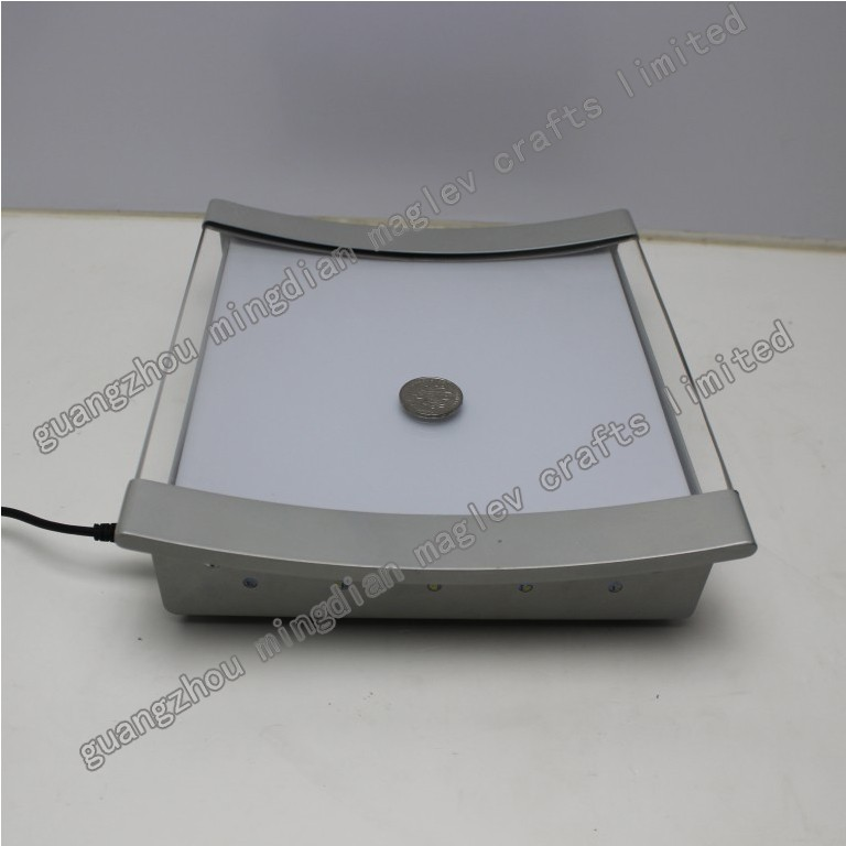 promotion metal led coin money cash tray , High quality Metal LED coin tray,LED cash Tray