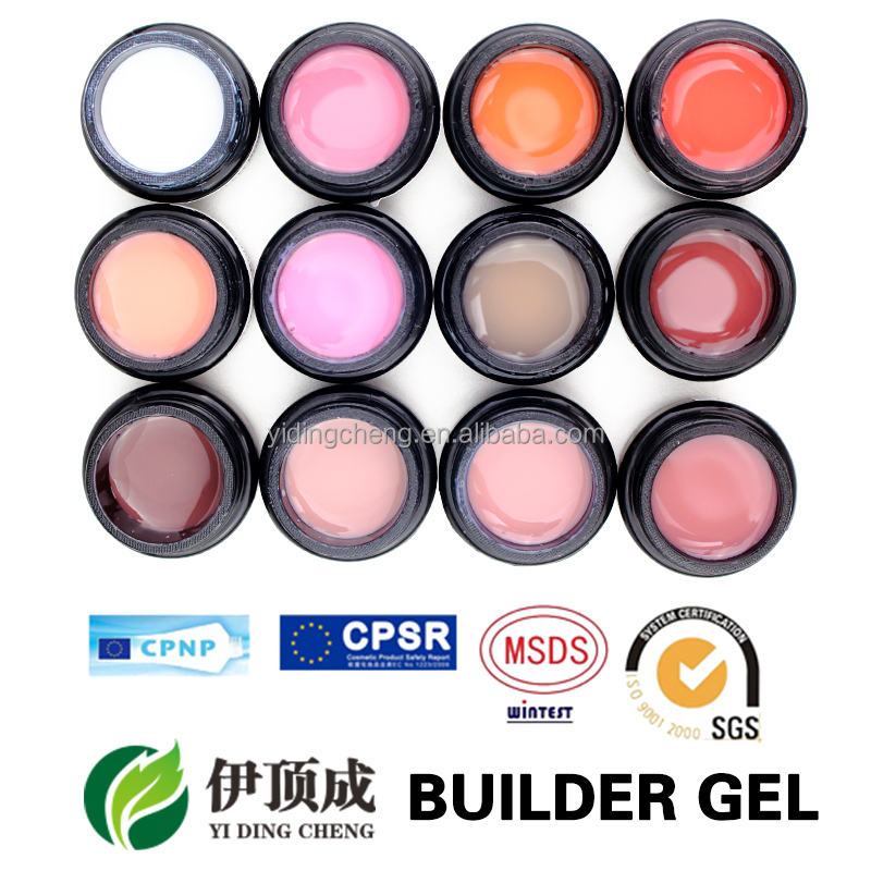 Free samples Soak off UV/LED Builder Camouflage UV Gel for Nail Extension