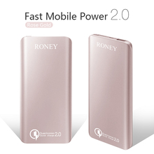 Big capacity color/logo customized portable charger wholesale 7000 mAH power bank