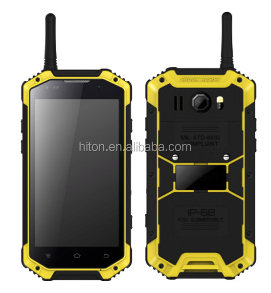 Cheapest new 4.7inch 2GB 16GB SOS Waikie-Talkie PTT 4G NFC rugged smartphone and IP68 rugged cellphone with NFC