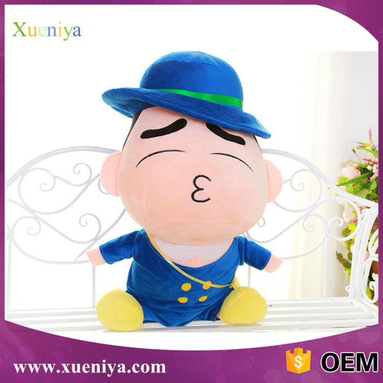 Hot Sale Cheap Custom Baby Cute Soft Plush Japanese Cartoon Doll