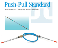 Push Pull Standard Performance Control Cable Assembly brake push pull cable