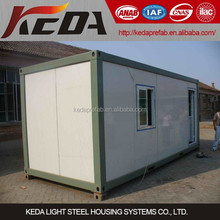 Living cabin design one bedroom mobile container house for sale