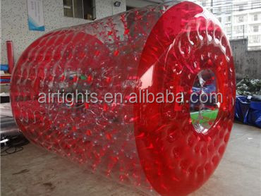 3mL x 2.6m Outer Dia. x 2m Inner Dia. water walking roller 0.8mm PVC inflatable water roller
